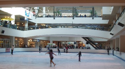 The Lloyd Center Ice Rink